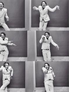 Steve Martin - amazing pic posing