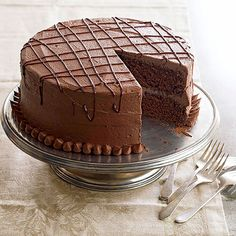 Enticingly airy, devil's food cake is a chocolate-lover's dream: http://www.bhg.com/recipes/desserts/cakes/classic-cakes/?socsrc=bhgpin031014devilsfoodcake&page=4