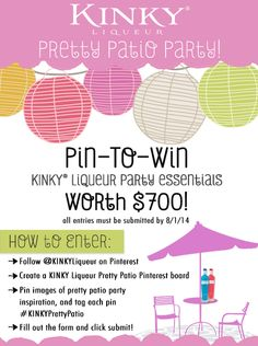 #PinToWin #contest #win #free #Summer #promo