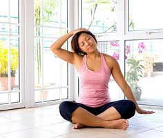 Relieve neck and shoulder tension with these stretches