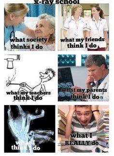 My life! X ray school