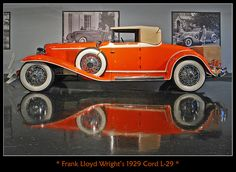 1929 Cord L-29 // by sjb4photos, via Flickr
