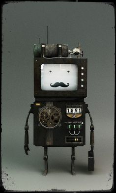 Would make a great 'daddy' robot