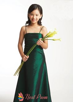 flower girl dresses in emerald green,emerald green flower girl dresses,spaghetti strap flower girl dresses $62.00 (USD)