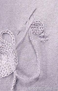 idea, craft, crochet, growing up, jackets, knit, beauty, creativ darn, embroideri