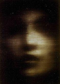 Woman, oil on canvas, 1992, Alison Van Pelt