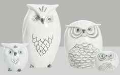 i looooooooove ceramic animals.  and these are so cute!