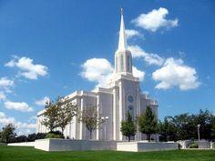 St. Louis Missouri LDS (Mormon) Temple