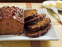 pumpkin seed, breakfast, potato quick, dinners, bread recip, breads, quick bread, cranberries, sweet potato