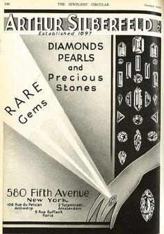 The Jewelers' Circular October 1930: Arthur Silberfeld Inc.