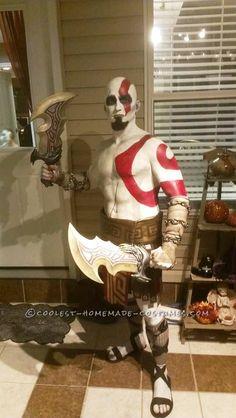 Kratos The God of War Costume... Coolest Halloween Costume Contest