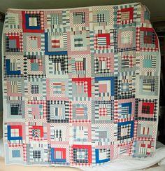 Chris's 21 quilt by bearpawandbearpaw, via Flickr