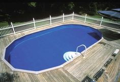 Above+Ground+Pool+Decks | Above Ground Pool, safety feature, swimming pool deck, swimming pools ...