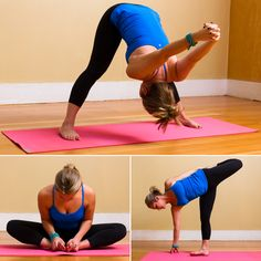 After the Run: Quick Yoga Cooldown Sequence...if you can stretch out your hip flexors, it will make a huge difference in your running!!