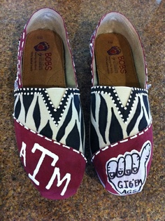OMG School Spirit shoes?! Must know how to do this