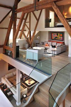 St pancras penthouse in london by thomas griem