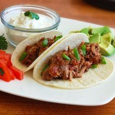 Tinga Poblana Pulled Pork Tacos