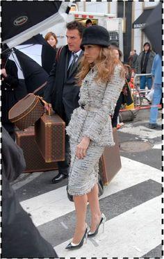 Sara Jessica Parker Annie Leibovitz, Louis Vuitton, Vogue