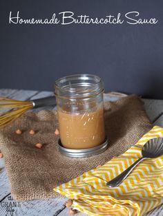 How to make homemade butterscotch sauce