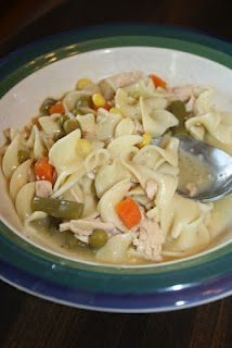 Slow Cooker: Creamy Chicken Noodle Soup
