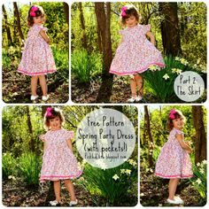 Pickled Okra by Charlie:: Free Pattern: Spring Party Dress, Part 2: The Skirt