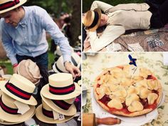 Casual summer wedding idea- a roaring 1920's outdoor reception with live Jazz music