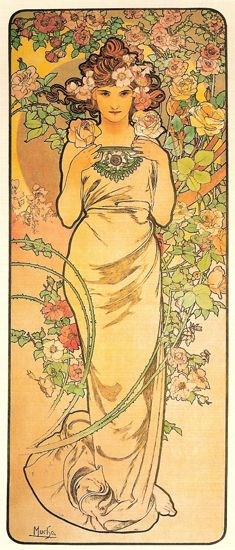 Alphonse Mucha - possible tattoo