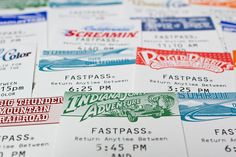 Fast Passes! Oh, yeah!