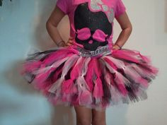 3 DAY SALE  Girl's Monster High Draculaura by tutusweetdesignsbyMA, $25.00