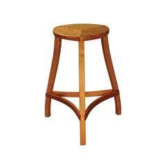 Three leg customer wood stool, Mac Stool by The Joinery on HomePortfolio