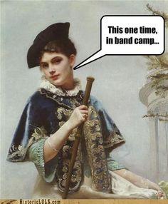 band camp...