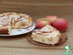 Творожное запеканка рецепт с яблоками