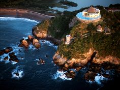 swimming pools, costa carey, villa, dream, mexico, pool houses, travel, place, puerto vallarta