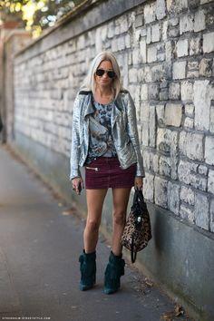 Isabel Marant Issop Skirt & Jacob Boots