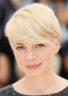 Celebrities With Short Hair pixie cuts, michell william, curly hair problems, short haircuts, short hairstyles, hair mayb, michelle williams, super short, blonde hairstyles
