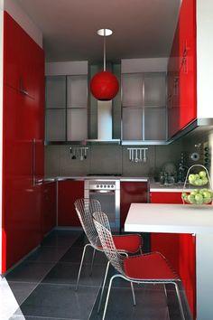 Modern #red #kitchen