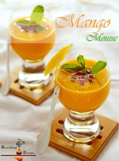 Mango Mousse #vegan