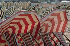 riviera dreams find umbrella, beauti umbrella, riviera dream, beachi stripe