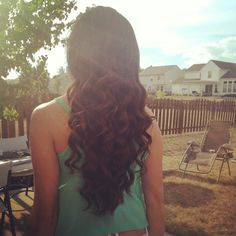 Long hair and curls