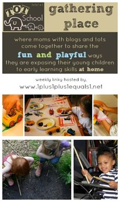 Tot School Gathering Place Weekly Link Up #totschool