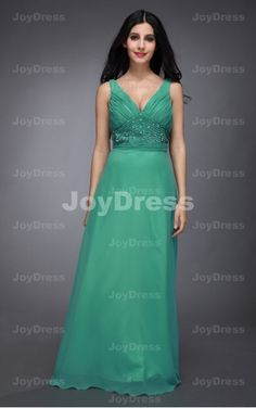 Shop a fancy Beading Ruched A-line Shoulder Straps Floor-length Dress from our e-shop, it will be your wise choice. Come and be the star of your next party in one of our gorgeous dresses!  £64.00