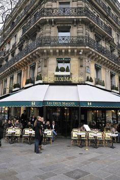 Les Deux Magots ,Paris,France