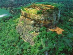 Sigiriya or The Lion Mountain in Sri Lanka