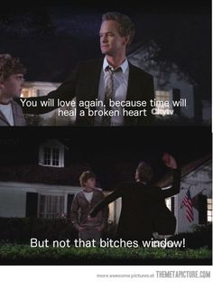 Barney, you're doing it right…