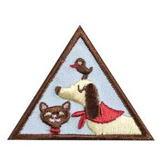 BROWNIE PETS BADGE. Whether they're cute and cuddly, or slimy and scary, pets are so much fun. If you hope to have a pet someday, use this badge to learn how to choose the pet that's right for you—and make sure it stays happy and healthy. Or find out how to take the best care of a pet you already have!
