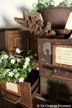 Rusty drawers