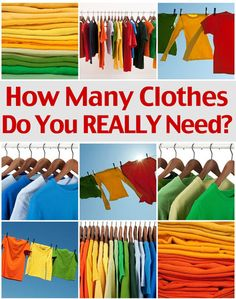 How Many Clothes Do