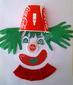 Mauriquices: Carnaval só com Coca-Cola! clown