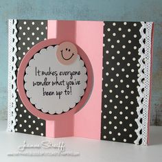 Sizzix: Smile Flip-its Card