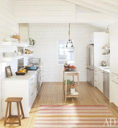 clean beach kitchen